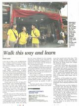 Singapore Footprints on The Straits Times