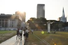 Walking Across Padang