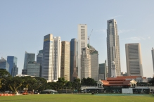 Central Business District view from Padang