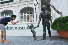 Outside Peranakan Museum