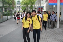 Our friendly Walkaholics, Ching Chieh and Desmond