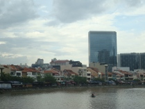 View of Clarke Quay from Singapore River